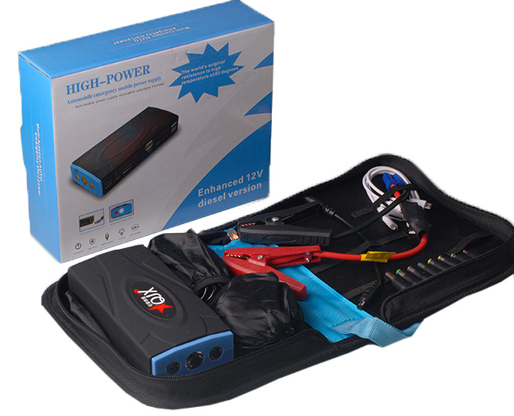 600A 16800mAh Multi-Function Emergency Car Jumper Starter