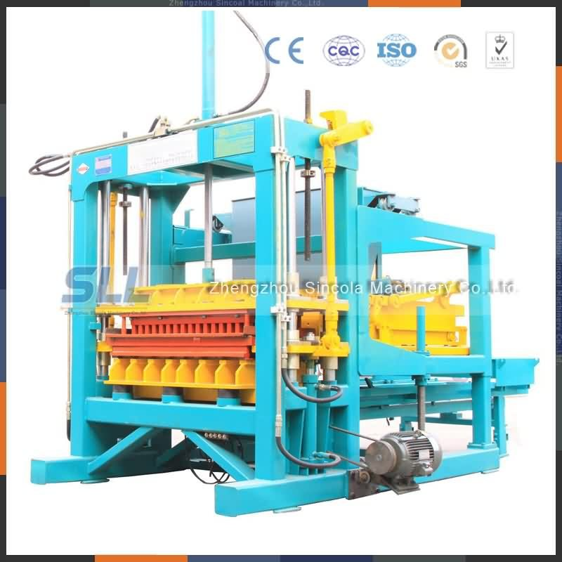 Manufacturer Supply Concrete Cement Block Making Machine