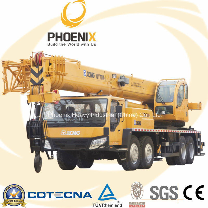 Xugong Mobile Truck Crane 70ton Qy70k-I