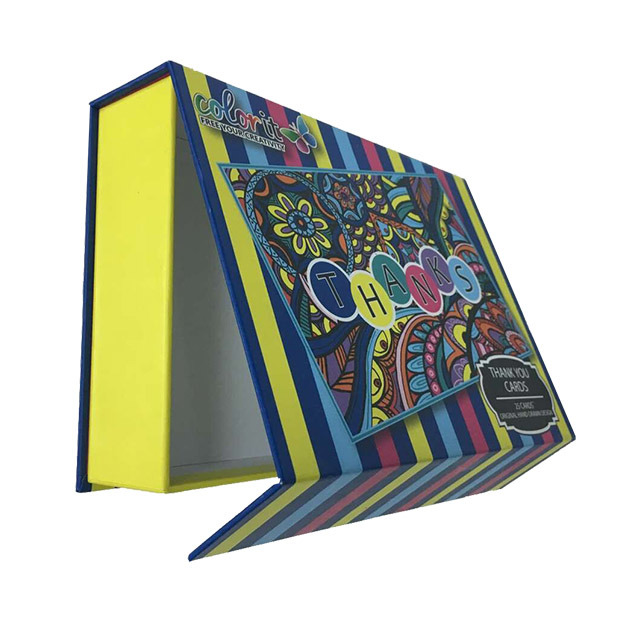 Printed Paper Hair Extension Box Wholesale
