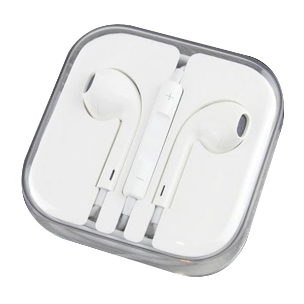 Colorful 3.5mm Stereo Earpods Headphone with Mic & Volume Control for iPhone X 8 7 Earphone