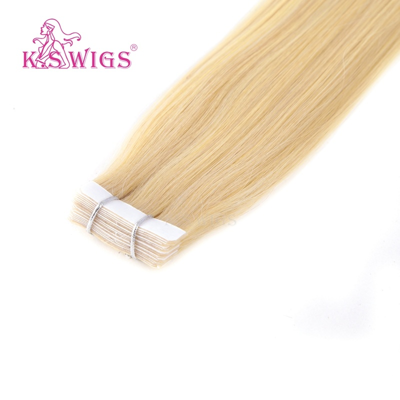K. S Wigs Good Quality New Arrival Tape Hair Extension 100% Human Hair 60#