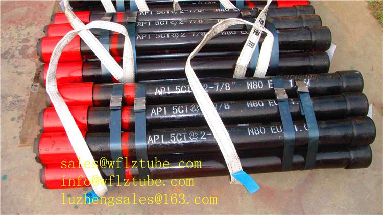 L80-1 Steel Pipe Btc R2 R3, P110 Casing Pipe 244.5mm, API 5CT Tubing 177.8mm