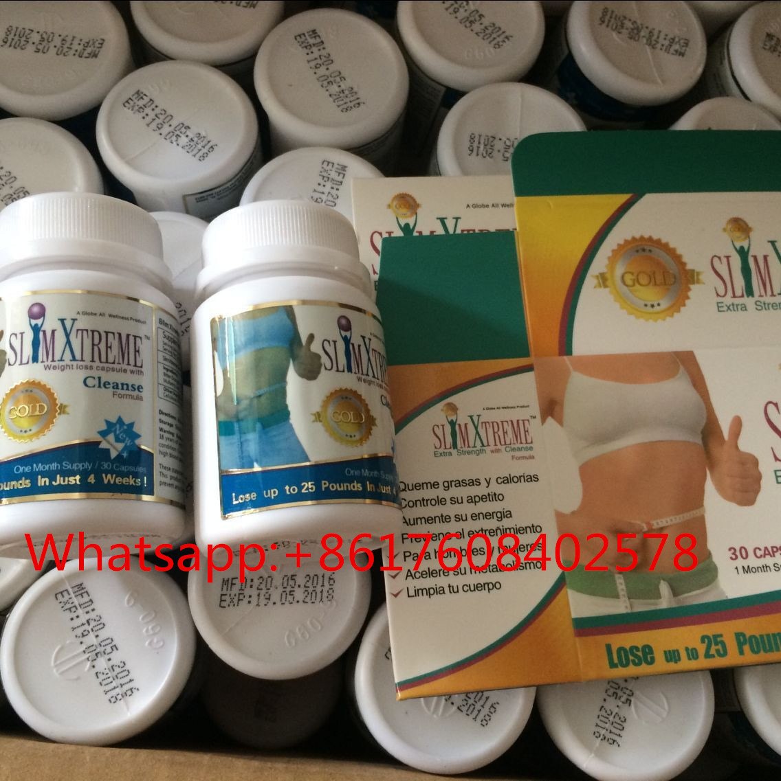 OEM Golden Slimming Pill Xtreme Gold Weight Loss Capsule