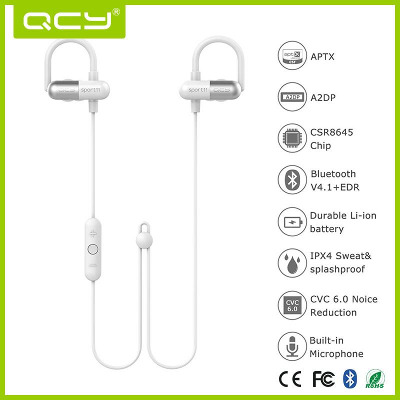 Qy11 Factory Earhook Sport Bluetooth Headphones with Rich Bass Music