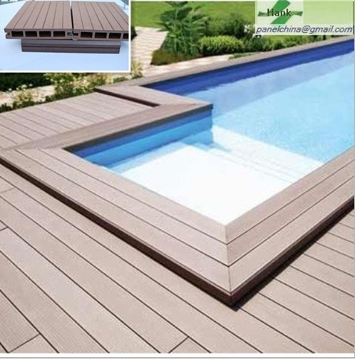 china less cracking plastic wood composite flooring china composite decking composite floor. Black Bedroom Furniture Sets. Home Design Ideas