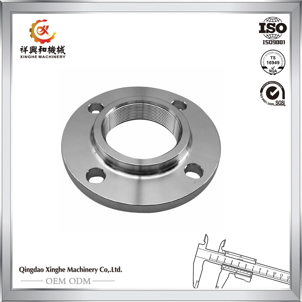 OEM 304 Stainless Steel Flange with ISO Certification