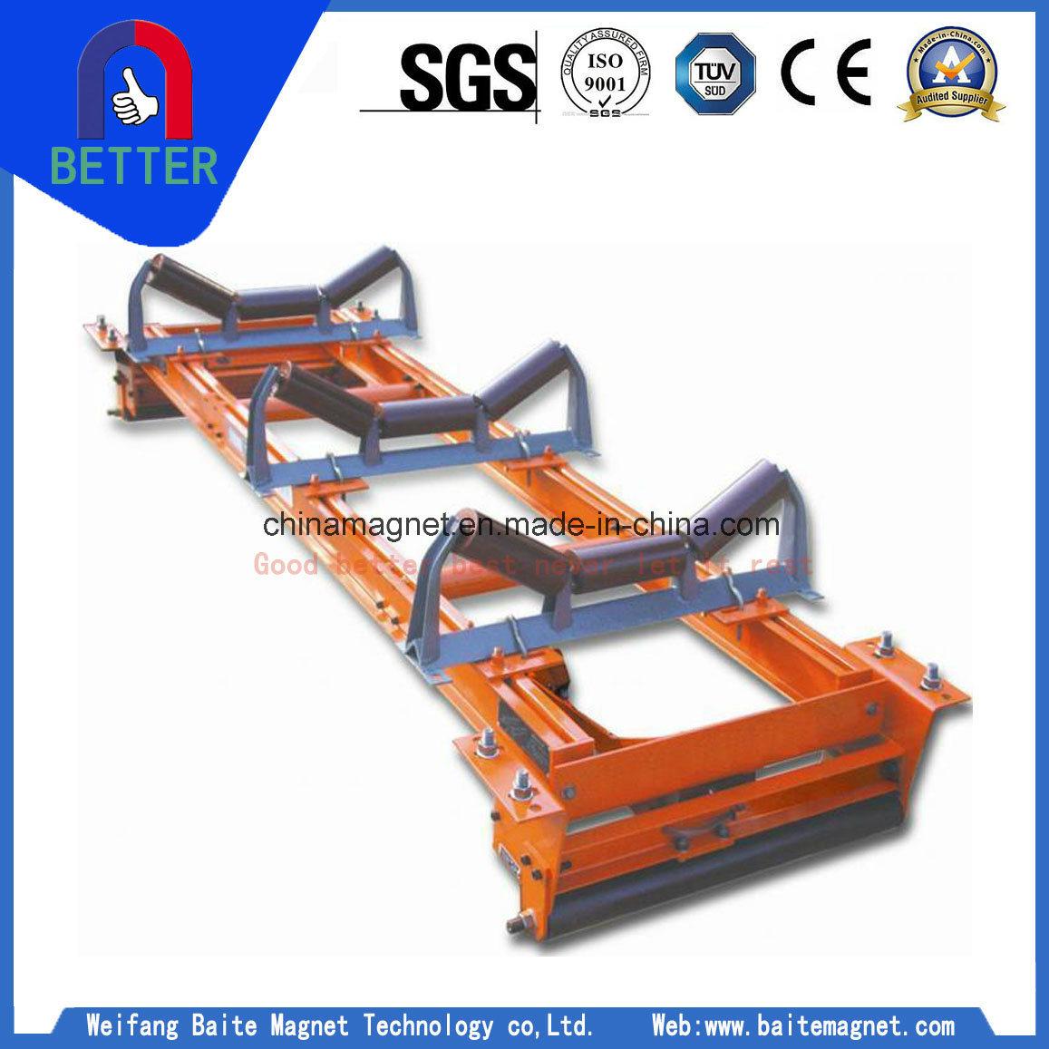 Ics Electronic Multi-Idler Roller Conveyor Belt Loader Belt Scale for Cement Plant