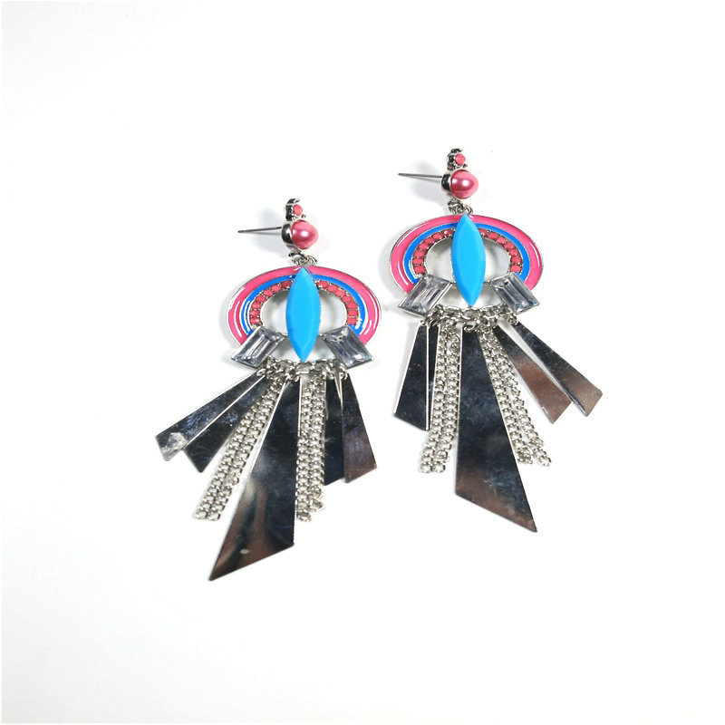 New Item Colorful Chandelier Fashion Jewellery Earring