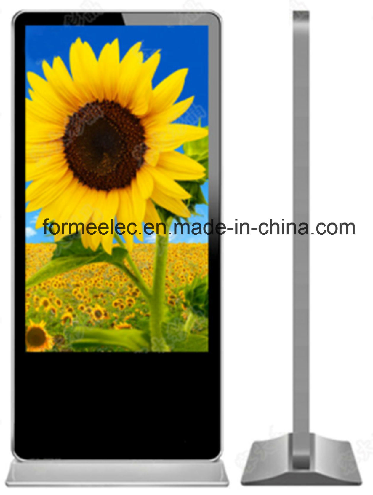 65 Inch Floor Stand Advertising Machine Media Display Ad Player
