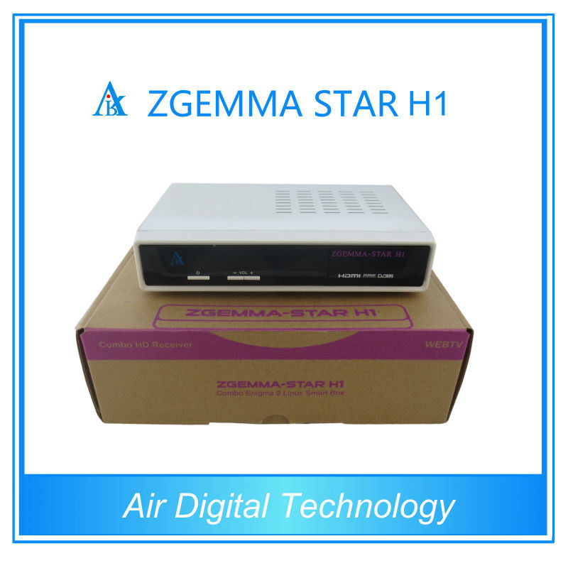 Zgemma Linux Satellite Receiver DVB-C+S2 Tuner Zgemma Star H1 Satellite Receiver Media Player