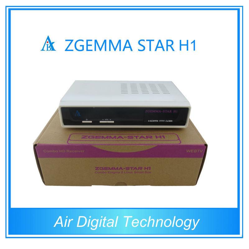 Zgemma Linux Satellite Receiver DVB-C+S2 Tuner Zgemma Star H1 Satellite Receiver Media Player