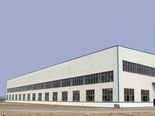ISO9001 Standard Large Span Steel Structure Workshop/Warehouse Building