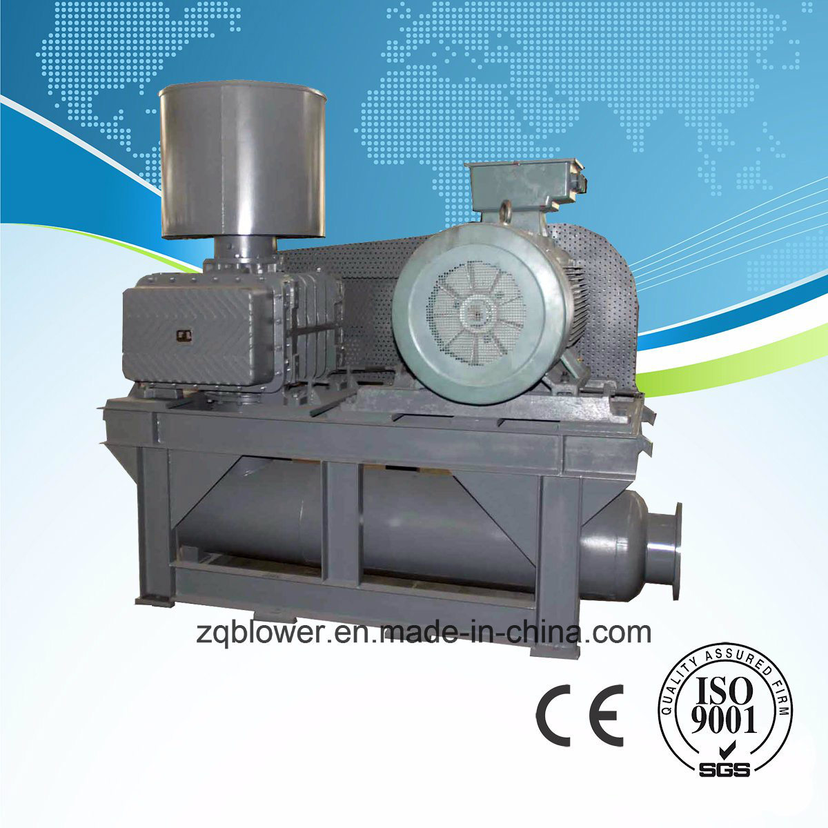Waste Water Roots Air Blower USA-Tech (ZG-290)