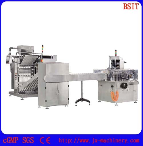 Multi-Lines Sachet Packing Production Line for Grain (DXDK900A)