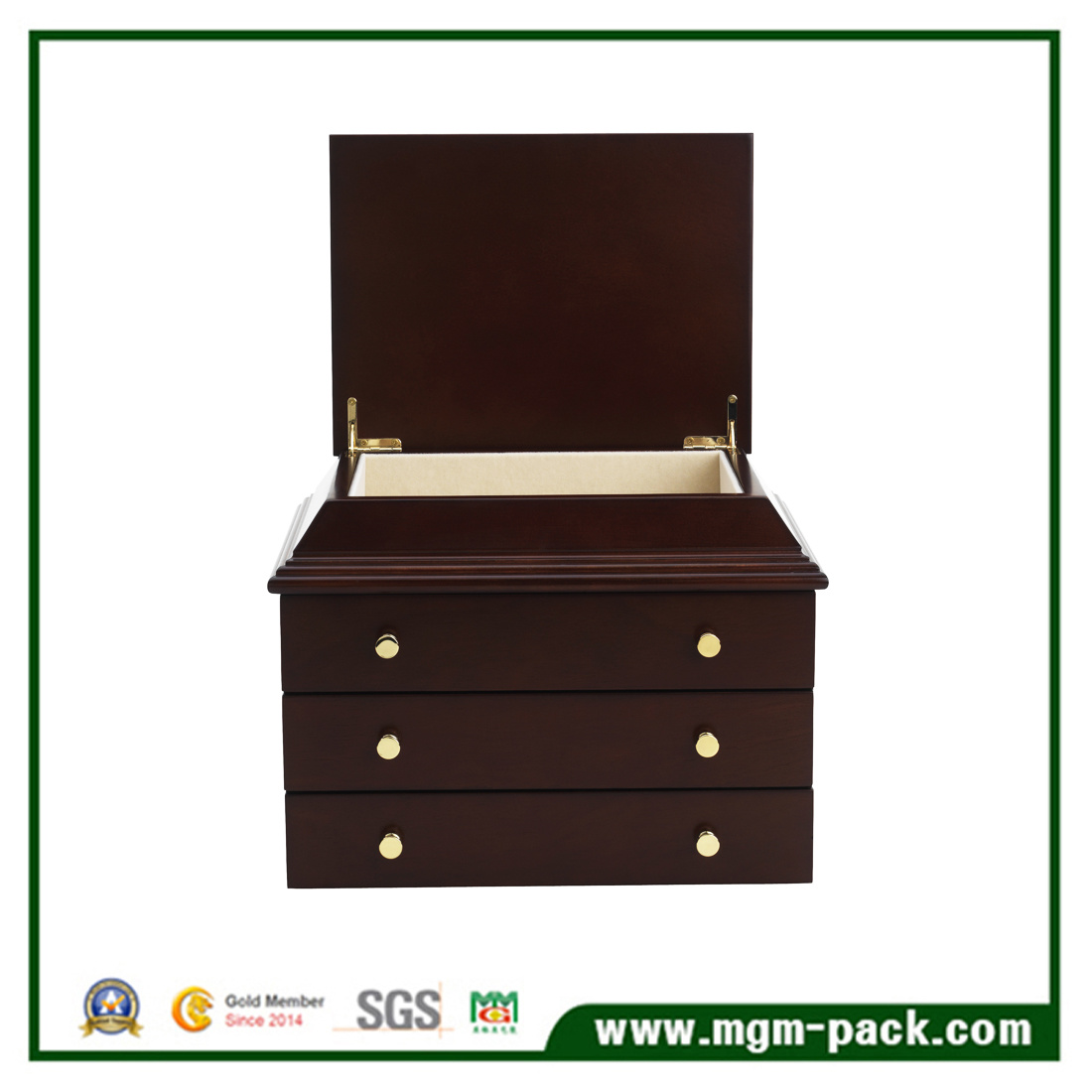Luxury Decorative Wooden Jewelry Storage Box
