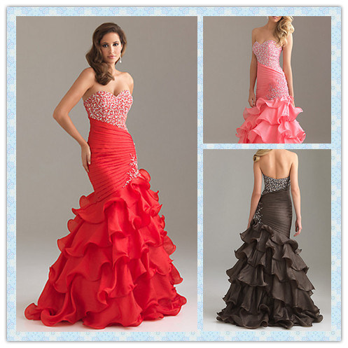 Black Chiffon Dress on 2012 Collection New Arrival Prom Dresses Spring Colors Blue Pink Black