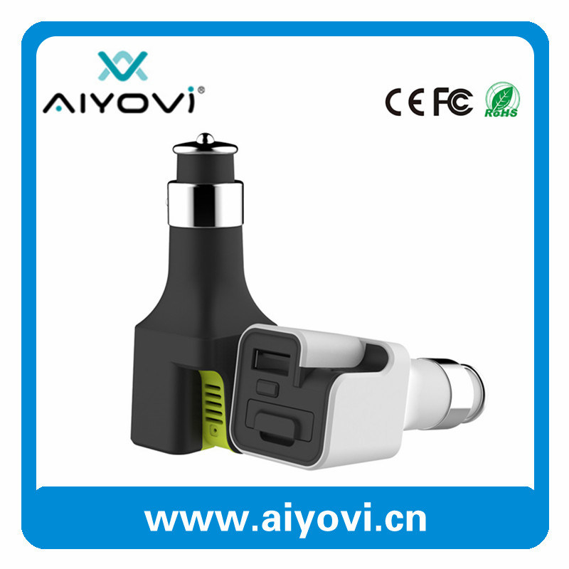 2016 New Design Hot Sale USB Car Charger with Aroma Diffuser Function