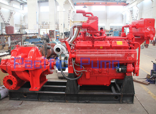 Multistage Split Case Fire Pump