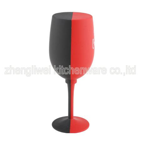 Glass Shaped Wine Gift Set (608011-B)