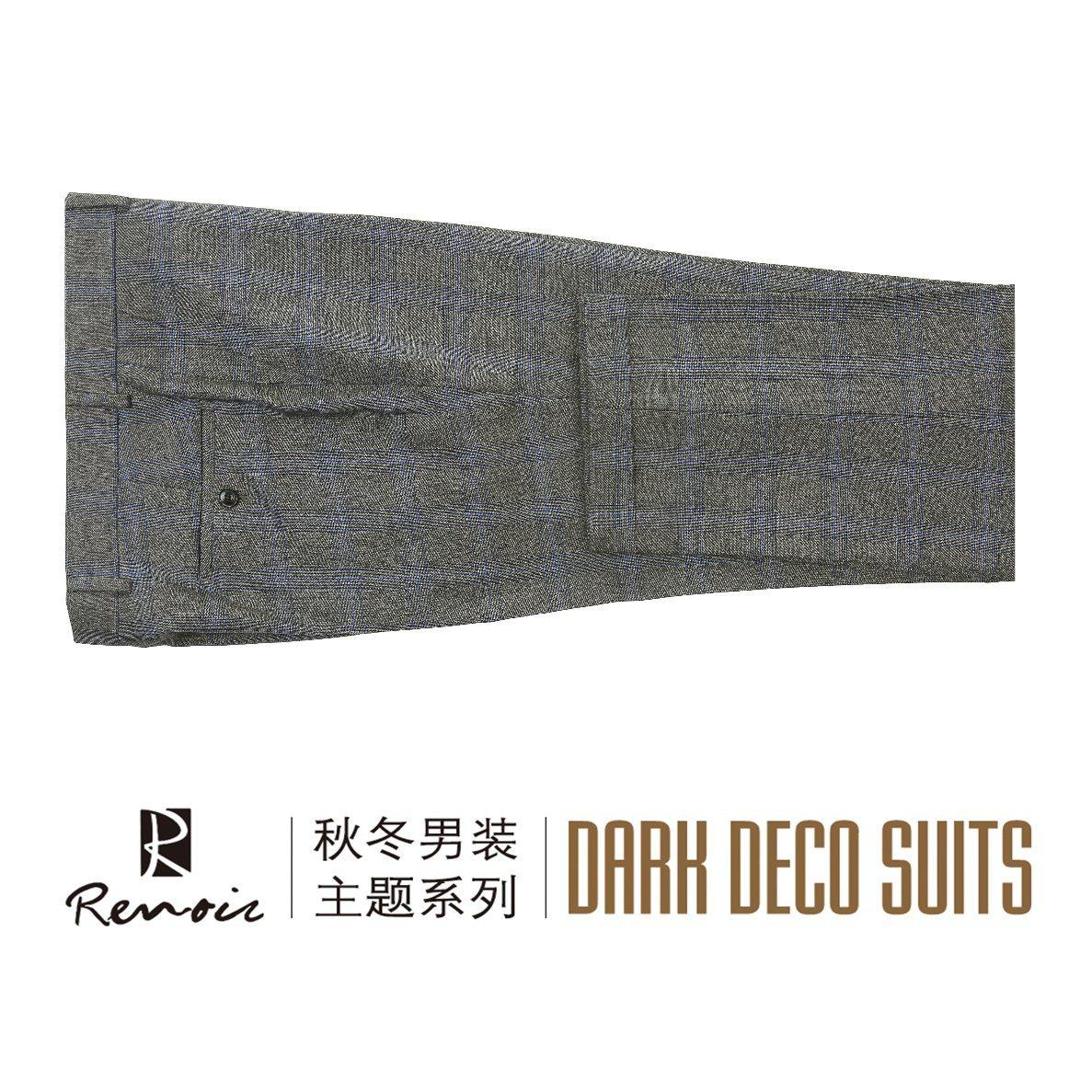 OEM 2 Piece Wool Classic Fit Men′s Business Suit