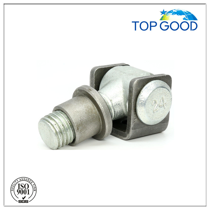 Q235 M12-M24 Short Screw Galvanized Door Hinge
