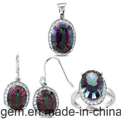 Jewelry Ring Set with Color Stones (S1224)