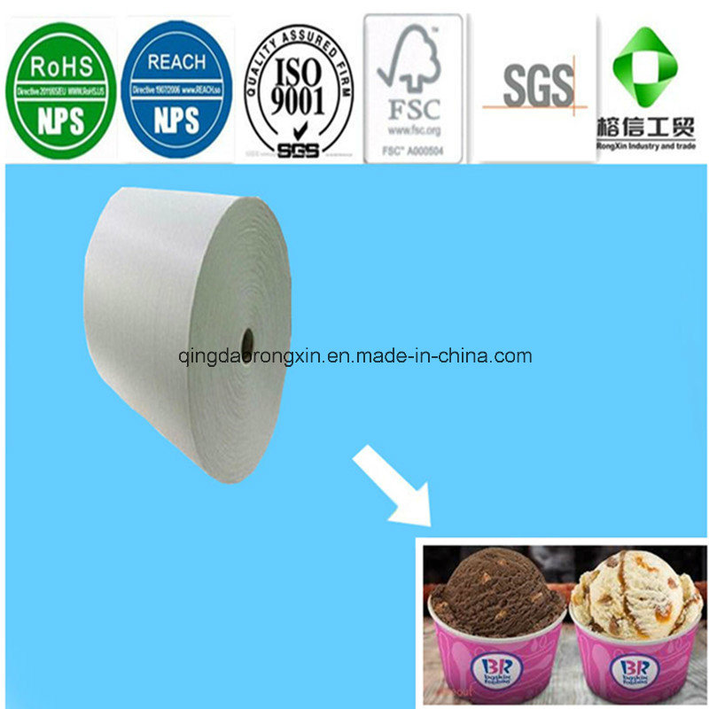 One Side PE Coated Baskin Robbins Icecream Cup paper