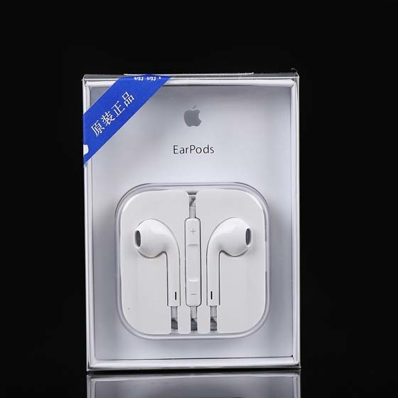 100% Original Headset Earphone for iPhone6/7/7plus with Mic Volume Control
