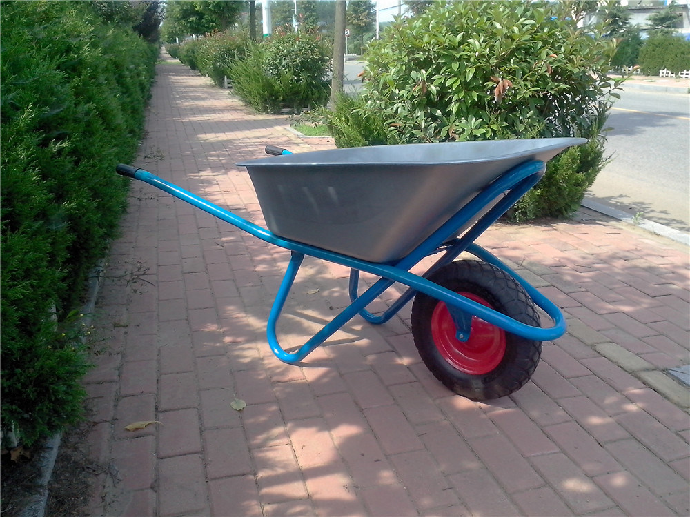 Wb6425g Zinc Plated Wheelbarrow for Russia Market
