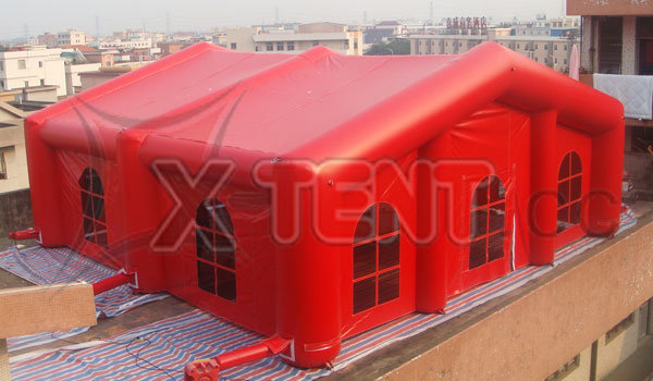 New 10m Red Inflatable Party Tent (XT029)