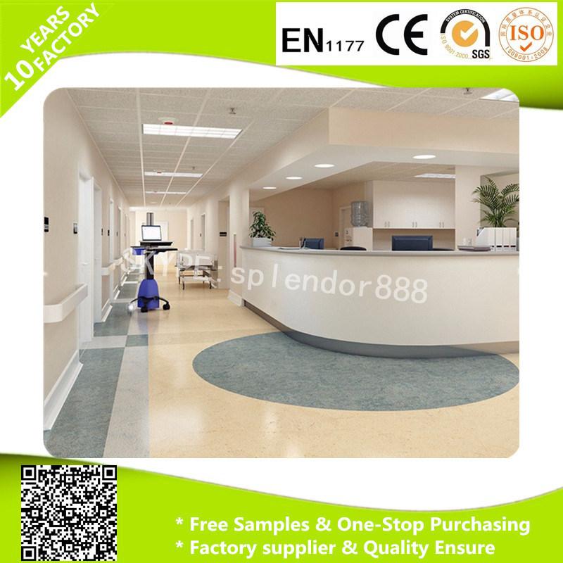 Durable Sport PVC Badminton Flooring Mat Roll