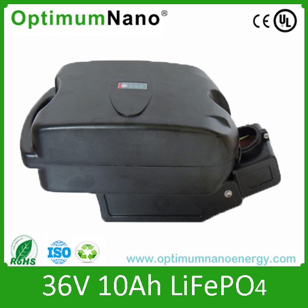 24V 10ah LiFePO4 Battery for E-Bike Frog Case