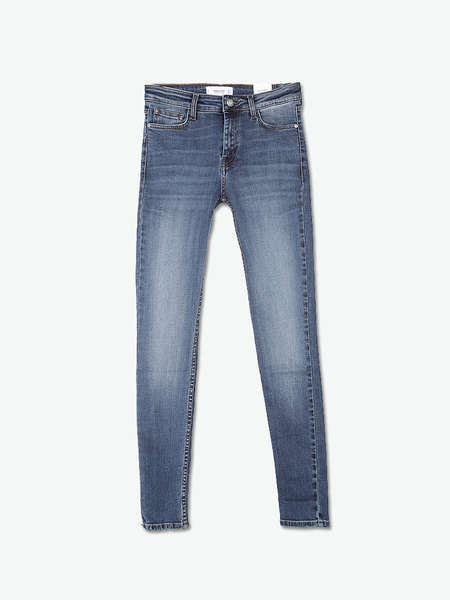 New Fashion High Waisted Slim Women′s Jeans