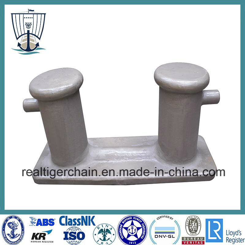 Casting and Welded Mooring Double Bitts Bollard for Ship