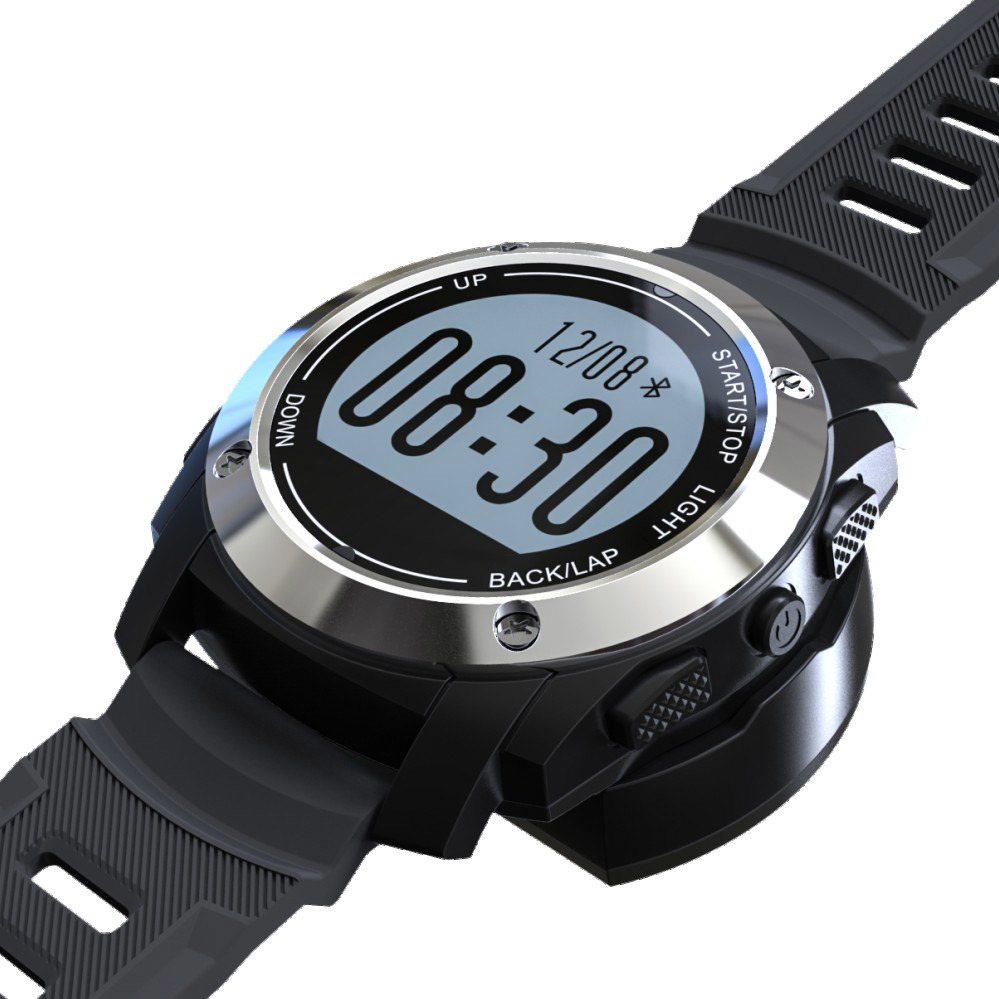Outdoor Smart Sport Watch with GPS, Heart Rate, Pressure, Environment Temperature, Height