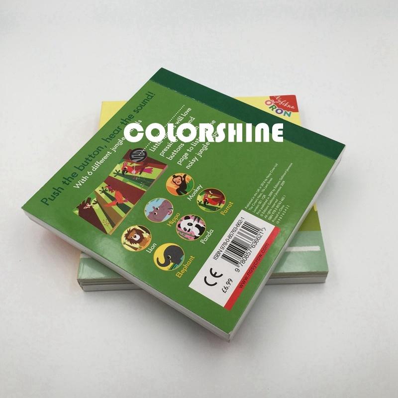 Attractive Colorful Child Sound Speaking Music Board Book