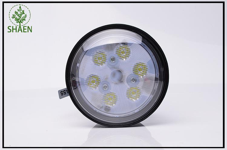 IP67 18W Round LED Car Driving Work Light