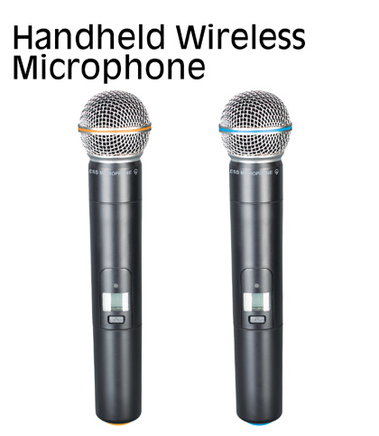 Professional UHF Infrared Professional Microphone Series (MC-8008)