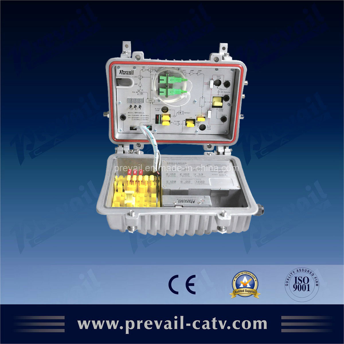 Agc Outdoor Optical Receiver Optical Transmitter (WR8602JL-1G)