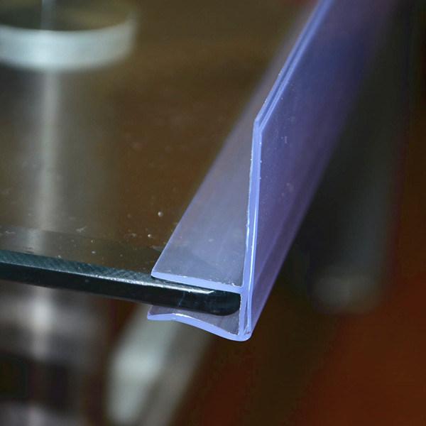 Glass Shelf Data Strip Talker Shelf for 6mm (DS-1021)