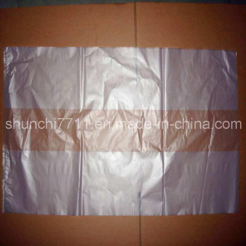 Clear Side Folding HDPE Bag