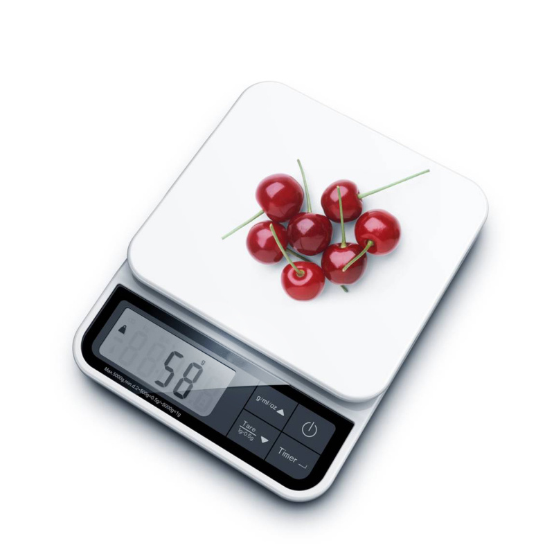 Timer Clock Function High Accuracy Kitchen Scale