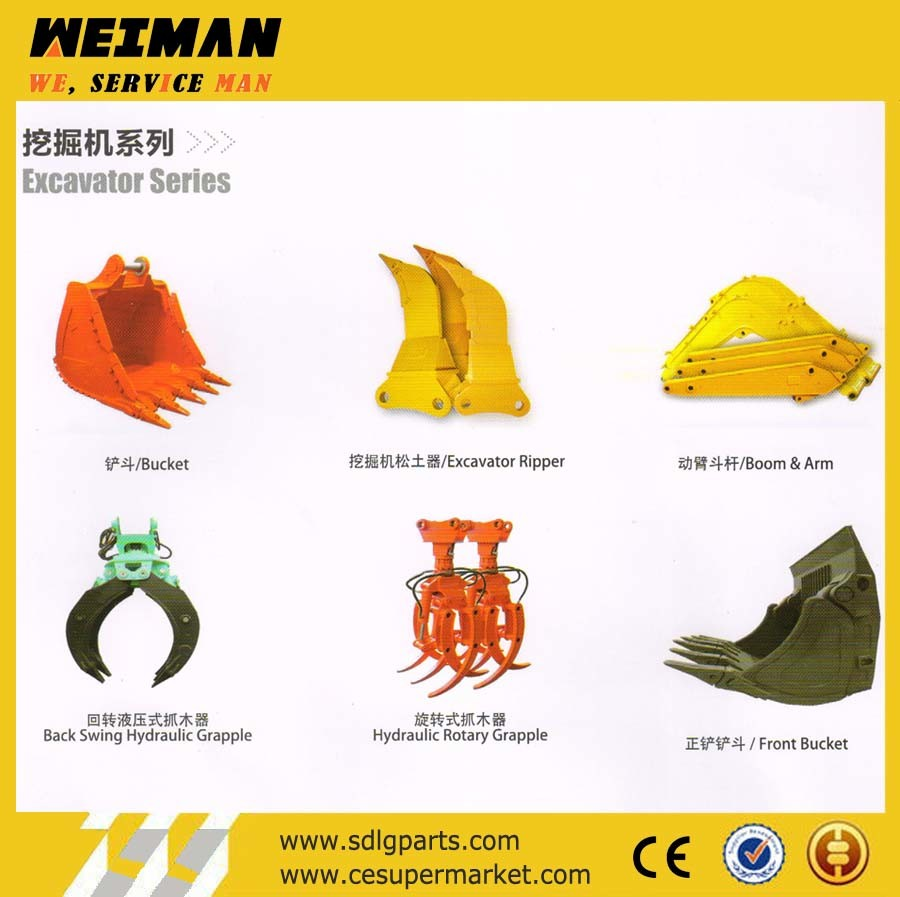 Excavator Attachments, Optional Extention Device of Excavator, Assistant Jigs, Multi Peel Grapple