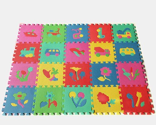 Baby Children Kids Play Floor Mat Plants Puzzle Soft EVA Foam Mat