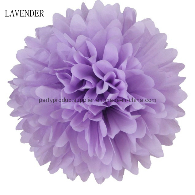 Decoration Pink Tissue Paper POM Poms
