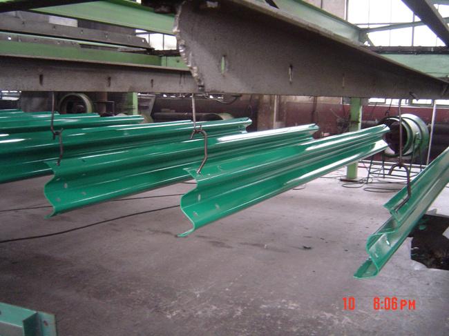 Steel Road Crash Barrier Highway Guardrail