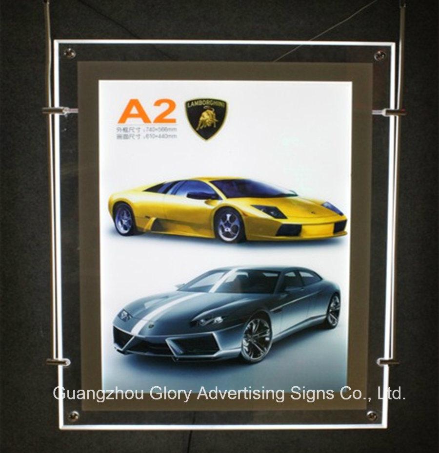 LED Crystal Acrylic Lighting Box