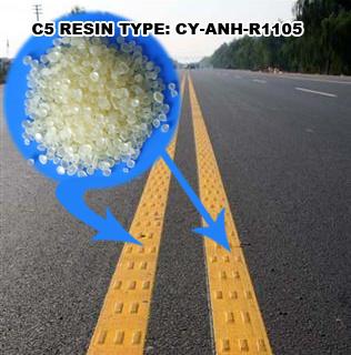 C5 Aliphatic Petroleum Resin for Hot-Melt-Road-Marking Paint