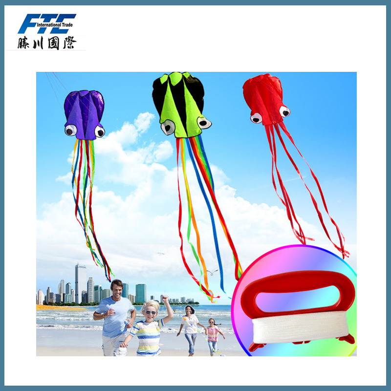 Children Outdoor Toys Hot Sale The Octopus Flying Kite